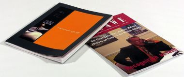 Selection of printed booklets