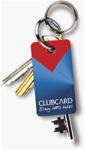 Tesco Clubcard key fob